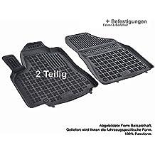 Fußmatten für Mercedes Viano ab 2003 Gummi Schwarz Antirutsch Vorne Automatten