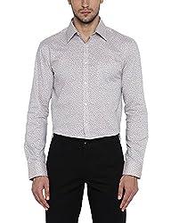 Park Avenue Mens Formal Shirt (8907575180842_PMSX09491-F2_40_Light Fawn)