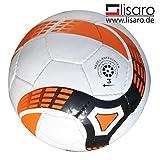 FUTSAL palla GR. 3/300G Bianco/Arancione/Futsal per e e F di ragazzi, giovani e bambini (G).
