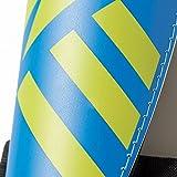 adidas Kinder Schienbeinschoner Ghost Club, Türkis/Blau/Schwarz, M, AH7769 -