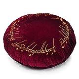 Il Signore degli Anelli - Cuscino 'un anello' velluto Elbenwald rosso Ø43cm immagine
