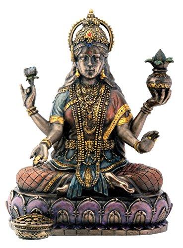 Summit Collection StealStreet Bronzefigur, Hindu-Göttin, Lakshmi, Hinduismus