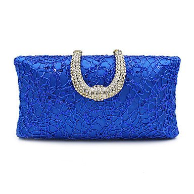 pwne L. In West Woman Fashion Luxus High-Grade Diamdons Abend Tasche Blue