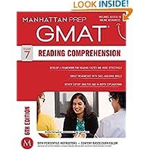 GMAT Reading Comprehension (Manhattan Prep GMAT Strategy Guides)