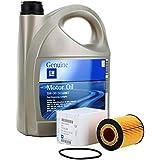 KIT FILTRO ACEITE MOTOR GM General Motor OPEL Oil 5w30 5 Litros (OPEL AGILA,