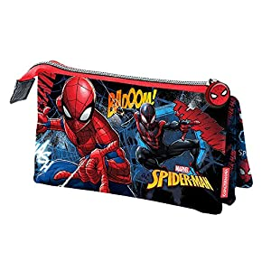 Karactermania Spiderman Smash Estuches, 23 cm, Azul