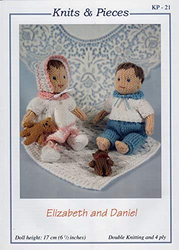 Muster für Elizabeth und Daniel Puppen.