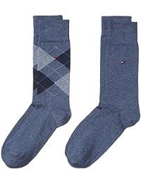 Tommy Hilfiger Herren Socken TH MEN CHECK, 2er Pack