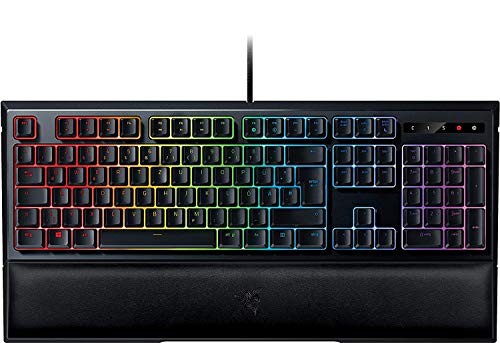 Razer Ornata Chroma Gaming-Tastatur mit Mecha-Membran Tasten, halbhohen Keycaps und Chroma Beleuchtung (QWERTZ-Layout)