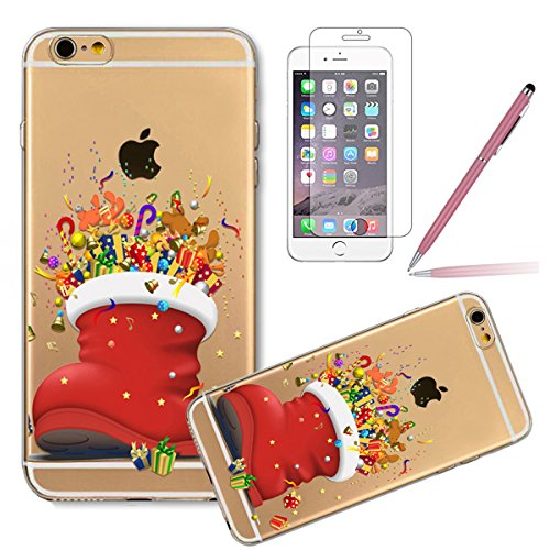 iPhone 4S Hülle,iPhone 4 Case - Felfy Ultradünnen Klar Delfine Pattern Handyhülle für iPhone 4S 4 Soft Flexible Weich TPU Silikon Schutzhülle Etui Bumper Case + 1x Schutzfolie Screen + 1x Hellblau Sty #05