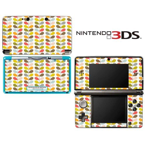 orla-color-stem-pattern-decorative-video-game-decal-cover-skin-protector-for-nintendo-3ds-not-3ds-xl