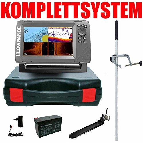 Lowrance Echolot Portabel Master Edition - Hook2 7 TripleShot Chirp Combo GPS Lowrance Combo Gps