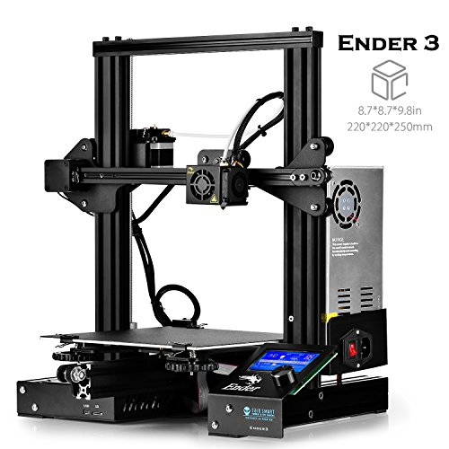 """SainSmart x Creality Ender-3 3D-Drucker, Lebenslauf Drucken V-Slot Prusa i3, für Home & School Verwendung, 8,7 x 8,7 x 9,8"""" Build Plate"""