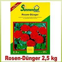 1 Stk. Sonnenhof Rosen Dünger 2,5kg für 25m²