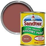Sandtex 150ml Brick Red Ultra Smooth Masonry Paint