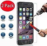 2 Pack - iPhone 6 6s Panzerglas, FoneExpert® Gehärtetem Schutzfolie Glasfolie Hartglas Panzerfolie Displayschutzfolie für iPhone 6 6s