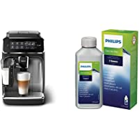 Philips EP3246/70 Machine à Café Automatique Expresso Séries 3200 LatteGo Argent & Philips CA6700/10 Detartrant Spécial…