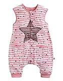 Vaenait baby Kinder Babyschlafsack Baumwolle Cotton Sleepsack Bling Pink Sleep S