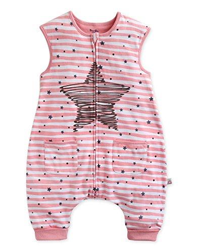 Vaenait baby 86-122 Kleinkinder Maedchen Jungen Unisex mit Beinen 100% Baumwolle Schlafsack Einteiler Spielanzug Schneeanzug Geschwisterkleidung