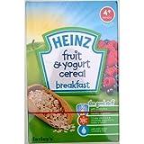 Heinz Farleys petit déjeuner de fruits et yaourt céréales - 6 x 125gm