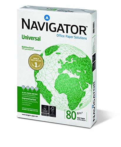 NAVIGATOR A4, 80g/m² papel universal
