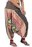 Famacart Women's Silk Patchwork Multi Al...