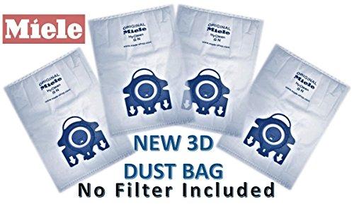 Original Kencospares bolsas para aspiradoras Miele tipo GN bolsas - sin filtro incluye! 4 unidades