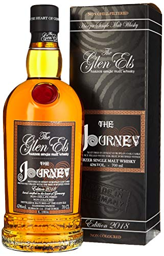 The Glen Els THE JOURNEY Edition mit Geschenkverpackung 2018 Whisky (1 x 0.7 l)
