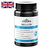 Mellow 5HTP, Cherry Extract & Vitamin B Complex | 60 Capsules | A Natural Pick-Me-Up | Purest Quality Natural Alternative to Sleeping Pills, Stress Medication & Anti Anxiety Tablets | Made in the UK | Supports Good Mood, Restful Sleep & Healthy Weight | B