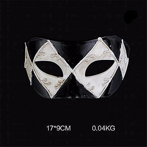 Mens Masquerade Masque Masques Masques pour Costumé / Bal Masqué / Halloween ,F