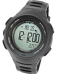[LAD WEATHER] Sensor de Alemán Cronógrafo Brújula digitales Altímetro Barómetro Alarma Pronóstico del tiempo Deporte Hombre Relojes de pulsera