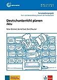 Deutschunterricht planen Neu: Buch mit DVD