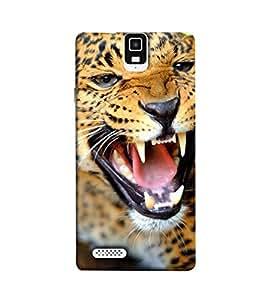 Fuson the wild tiger theme Designer Back Case Cover forInfocus M330-3DQ-1197