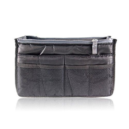 Miaomiaogo Frauen Zipper Organizer Geldbörse Tidy Make-up Tasche Handtasche (Legen Organizer Handtasche Geldbörse)
