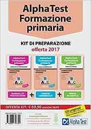 alpha test formazione primaria kit di