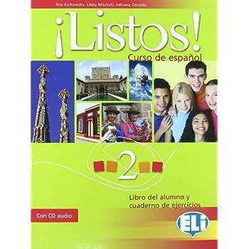 ¡listos! Libro Dello Studente-Eserciziario. Con Cd Audio. Per La Scuola Media: 2