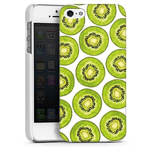 Apple iPhone 4 Housse Étui Silicone Coque Protection Motif Motif Été CasDur blanc