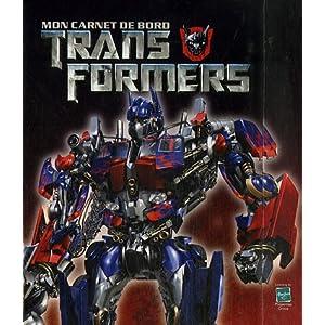 Mon carnet de bord Transformers