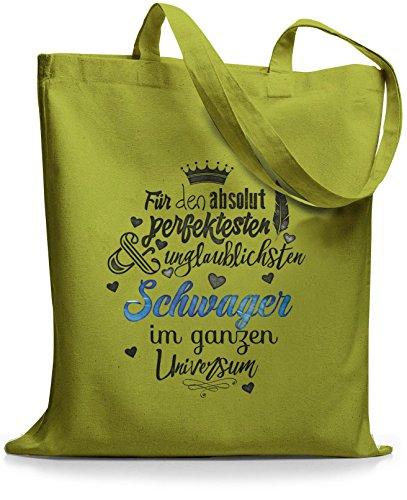 StyloBags Jutebeutel / Tasche Für den absolut perfektesten Schwager Kiwi