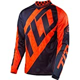 Troy Lee Designs Flourescent Orange-Navy 2017 GP Air Quest MX Jersey