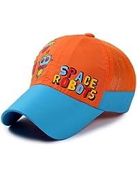 Roffatide Robot de Impresion Niños Gorra de Béisbol Secado Rápido Niñas  Verano Anti-UV Sombrero ef4de2f209d