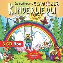 Die schönschte schwiizer Kinderliedli - 3 CD - 94 Liedli - (Die schönsten schweizer Kinderlieder)