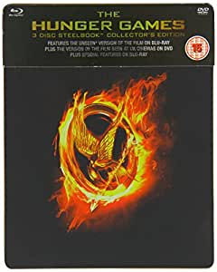 The Hunger Games Bluray Steelbook - HMV Exclusive [UK Import]