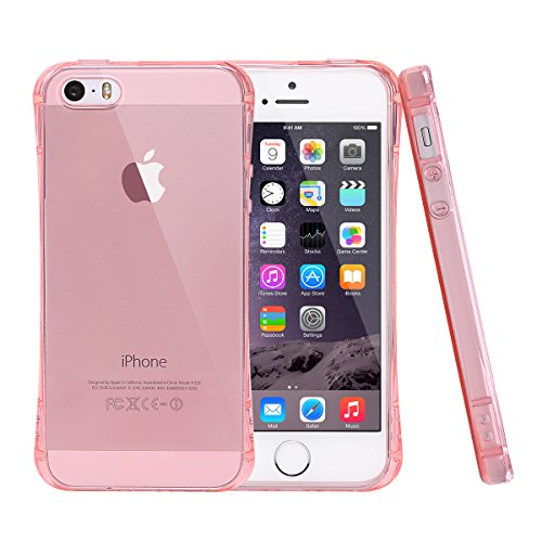 SE iPhone-Cover per iPhone 5/5s, Mnojoy (TM) [Cuscino Air (SE iPhone 10,16 (4