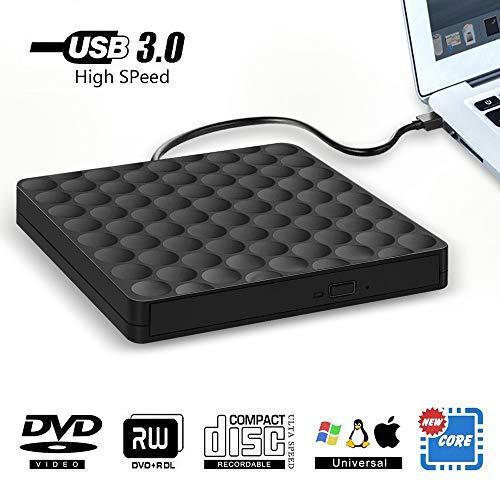Lecteur CD DVD Externe, USB 3.0 ...