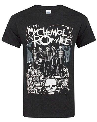My Chemical Romance The Black Parade Poster Men's T-Shirt (XL) (Chemical My Romance Shirt)