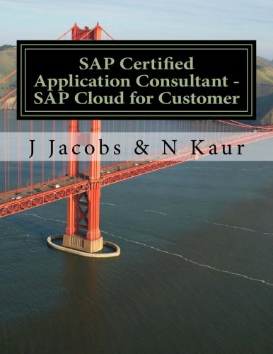 SAP Certified Application Consultant - SAP Cloud for Customer