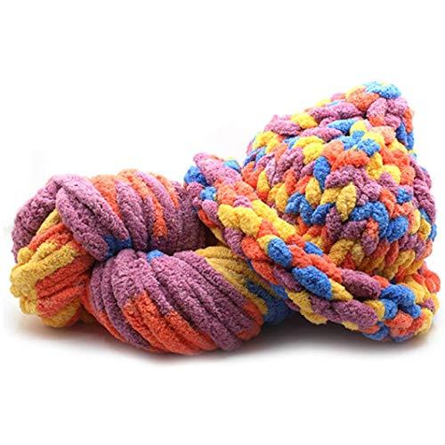 xianhuzhenzhen Nützliche icelandische Woll-Pullover, grobe Wolle, super sperrige Arm-Strickwolle, Strickdecke für Heimdekoration - 507 - Sperrige Pullover