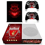 Xbox ONE S SLIM Skin Covers Sticker Liverpool Vinyl Decal for Console & 2 Controllers Brand NEW