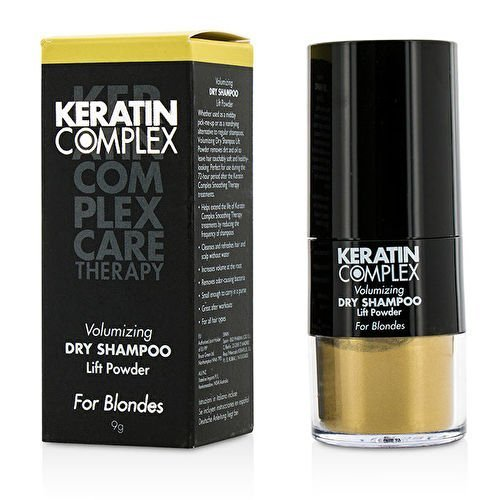 Keratin Complex Volumizing Dry Shampoo Lift Powder # Blonde 9G/0.3Oz by Keratin Complex